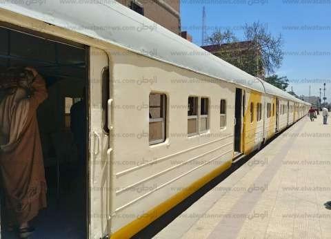إصابة 5 ركاب بسبب انقطاع التيار الكهربائي عن قطار أبو قير بالإسكندرية