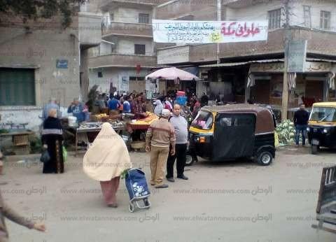 رئيس مدينة فوه يقود حملة لرفع الإشغالات وتسيير الحركة المرورية