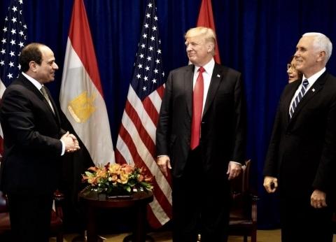 موسى: ترامب قدم الدعم لمصر في حربها على الإرهاب خلال لقائه مع السيسي