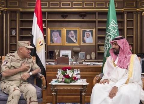وزير الدفاع يلتقي نظيره السعودي في المملكة لبحث التعاون المشترك