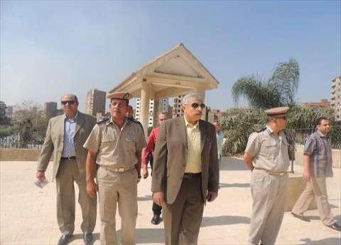 بالصور| مدير أمن الغربية يتفقد استاد غزل المحلة استعدادا لمباراة سموحة