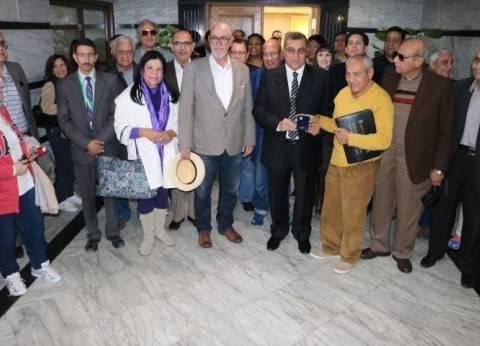 محافظ الفيوم يلتقي سفراء دول أمريكا اللاتينية لبحث التعاون