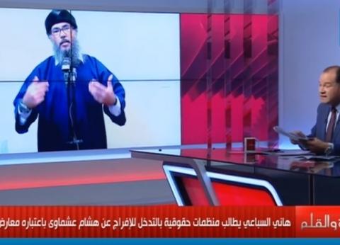 """الديهي يطالب بريطانيا بتسليم هاني السباعي لمصر: """"يحرض على قتل جنودنا"""""""