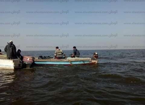 بالصور  حملة أمنية لإزالة التعديات على بحيرة البرلس في كفر الشيخ