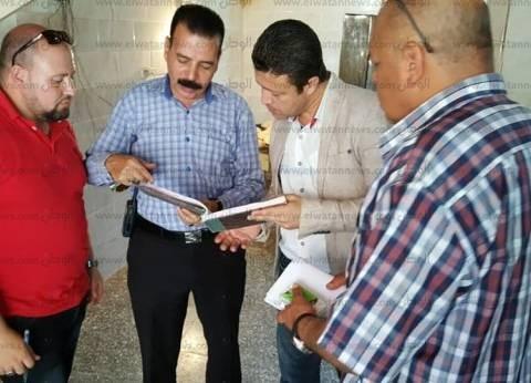 بالصور| وكيل تموين كفر الشيخ ورئيس المباحث يقودان حملة على الأسواق