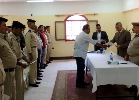 ختام الدورة التثقيفية 72 لتنمية مهارات رجال الشرطة في المنيا