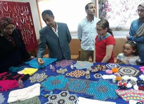 بالصور| افتتاح معرض الأشغال اليدوية في دمياط