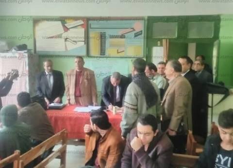 بالصور| مدير تعليم سيدي سالم يشهد مسابقة أوائل الطلبة للمرحلة الثانوية