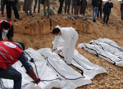 الهجرة غير الشرعية عبر ليبيا فى أرقام