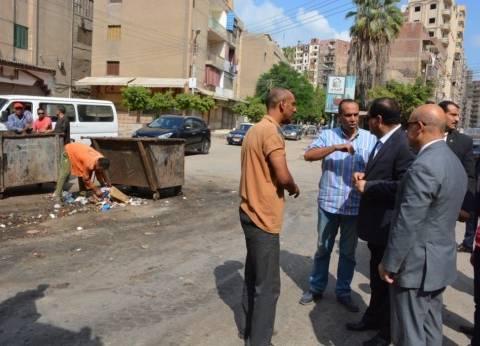 بالصور| محافظ الغربية يوجه بإزالة الإشغالات لمنع التكدس المروري