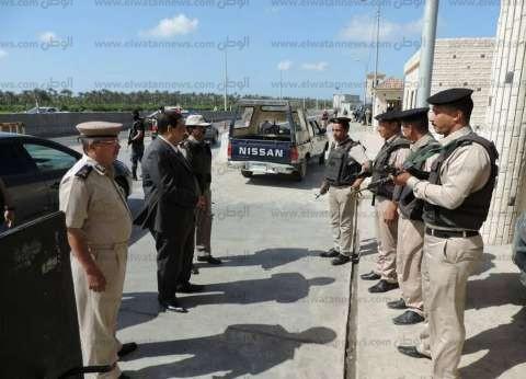بالصور| مدير أمن كفر الشيخ يتفقد الخدمات الأمنية على الطريق الدولي