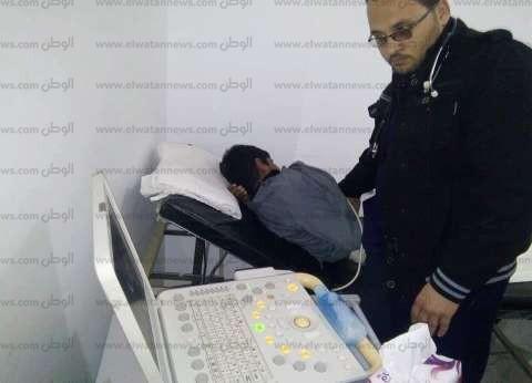 الكشف الطبي على 131 مواطنا بقافلة أمراض القلب بمطروح