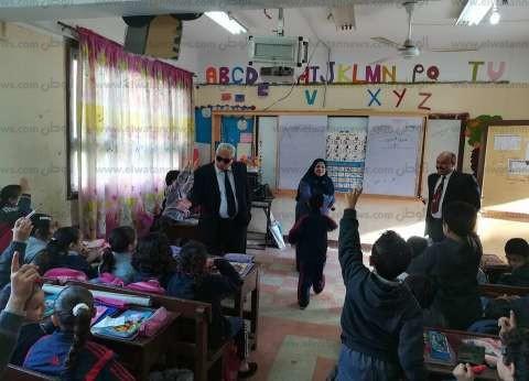 """وكيل """"تعليم البحيرة"""" يُشدّد على متابعة أداء المعلمين داخل الفصول"""