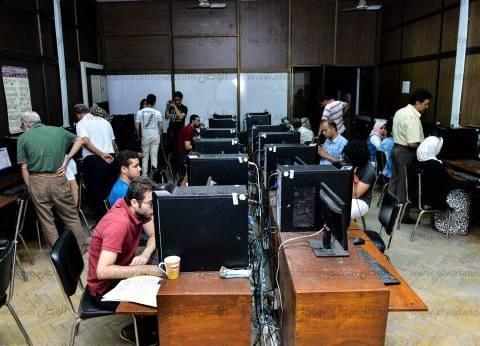 إقبال متوسط على معامل التنسيق في جامعة عين شمس