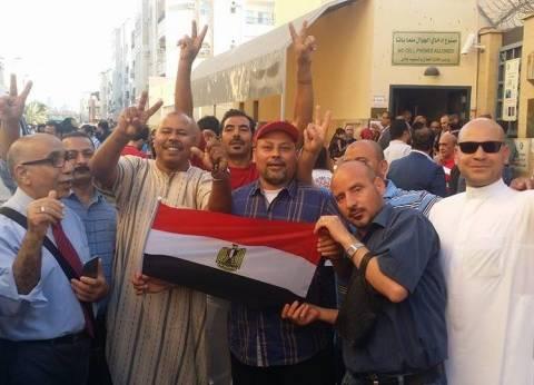 """مصري بالسعودية يقطع 1600 كيلومتر للتصويت: """"إتغدينا من كشري أبو طارق"""""""