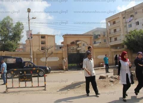 بالصور| انتشار أمني أمام لجان الثانوية العامة في كفر الشيخ