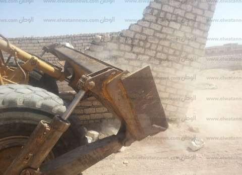 """""""أمن كفر الشيخ"""": تنفيذ 75 قرار إزالة لتعديات على أراضي الدولة"""