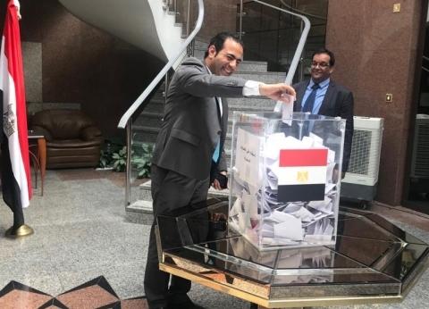 سفير مصر في العراق: إقبال كبير وواضح على التصويت بالاستفتاء الدستوري