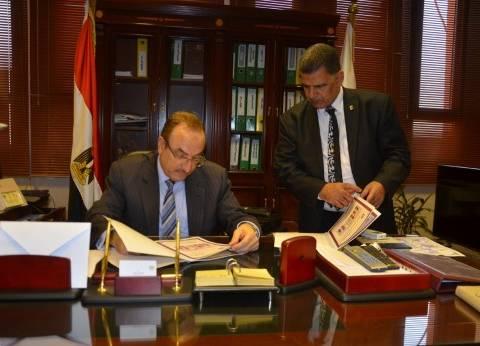 محافظ بني سويف يعتمد نتيجة الشهادة الإعدادية بنسبة نجاح 70.3%