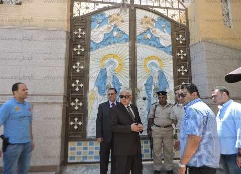 مدير أمن البحيرة يتفقد مركزي شرطة الدلنجات وكوم حمادة