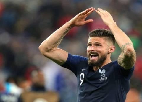 """""""ظاهرة جيرو"""".. مهاجم فرنسا يحصد كأس العالم دون تسديدة واحدة على المرمى"""