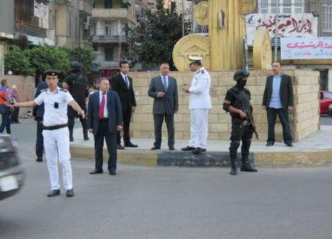 """""""أمن الإسكندرية"""" يؤمن ساحات الصلاة والميادين خلال احتفالات عيد الفطر"""