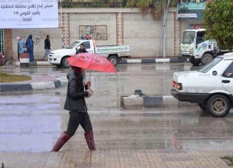 """""""الأرصاد"""" تحذر من أمطار رعدية تصل حد السيول اليوم"""