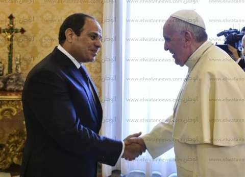 """""""الدفاع عن الكنيسة"""" تستعد لاستقبال بابا الفاتيكان بحفل في القاهرة"""