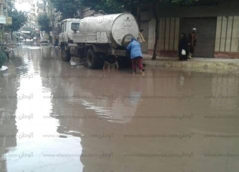 شمال سيناء تتعرض لموجة أمطار غزيرة.. وانخفاض في درجات الحرارة