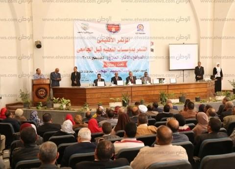 محافظ قنا يشارك في فعاليات المؤتمر الإقليمي لمناهضة التنمر بالمدارس