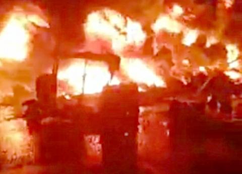 تسبب في وفاة 7 بسبب محاولة سرقة.. القصة الكاملة لحريق إيتاي البارود
