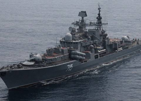 سان بطرسبورج تشهد عرضا عسكريا للقوات البحرية الروسية بحضور بوتين