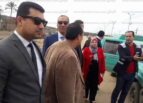بالصور| ضبط 11 طن ملح فاسد بمعمل ألبان وتحرير 10 محاضر في مطوبس