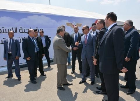 مدير أمن مطار القاهرة يتفقد أعمال الاستفتاء على التعديلات الدستورية
