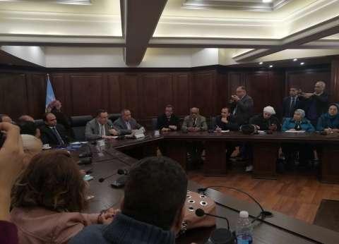 محافظ الإسكندرية: مياه الشرب آمنة وزيادة نسبة الكلور للقضاء على التلوث