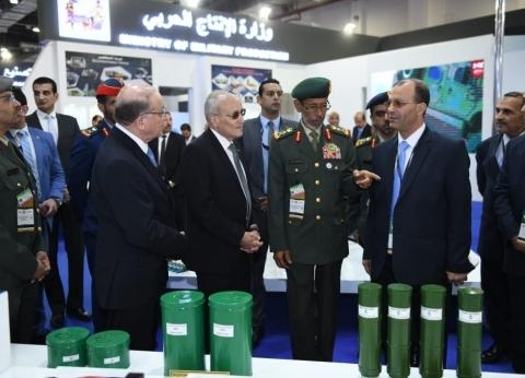 «العصار» يدعو الدول المشاركة لفتح آفاق التعاون العسكرى فى التصنيع وتدريب العمالة