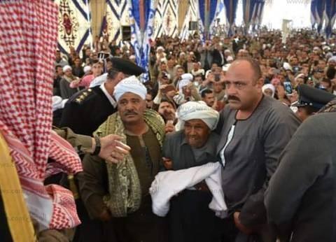إنهاء خصومة ثأرية بين عائلتين في دار السلام بسوهاج