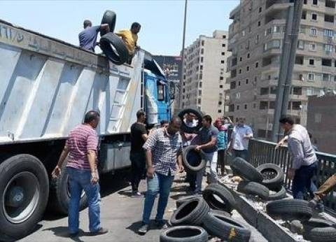 """""""الطرق والكباري: نواصل شن الحملات لإزالة التعديات على """"الدائري"""""""