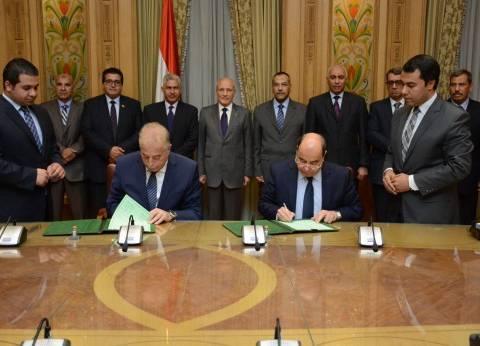 """بروتوكول بين """"الإنتاج الحربي"""" ومحافظة جنوب سيناء لتنفيذ مشروعات تنموية"""