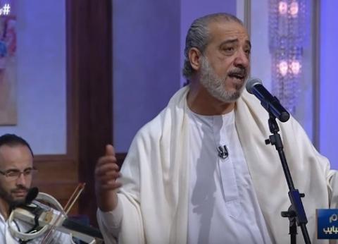 """المنشد عامر التوني: """"بدأت أداء الأغاني الصوفية في اليونان"""""""