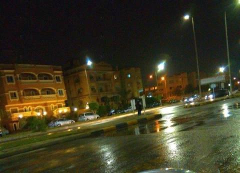عاجل| سقوط أمطار غزيرة على القاهرة الكبرى