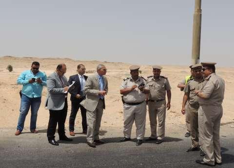 جولات تفقدية على نقاط التفتيش الأمنية بصحراوي المنيا
