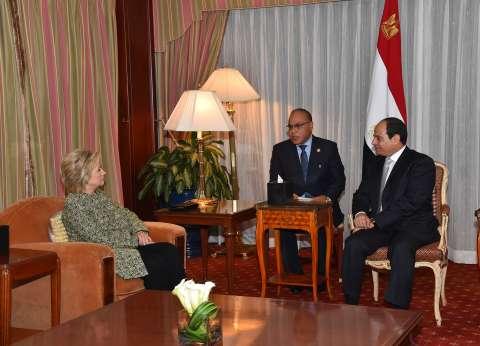 «السيسى» يلتقى «ترامب» و«كلينتون».. ومرشحا الرئاسة: أمريكا ستكون حليفاً وصديقاً لمصر