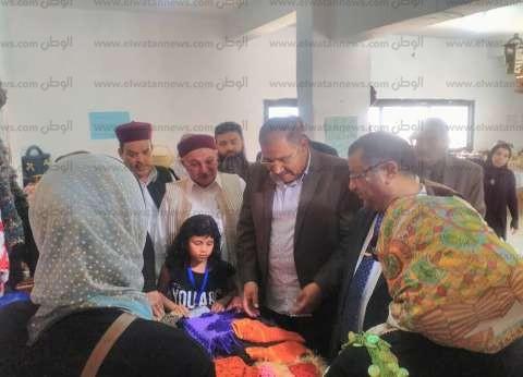معرض للصناعات اليدوية لطلاب محو الأمية بمطروح