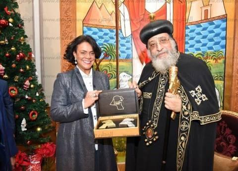 البابا تواضروس الثاني يستقبل مستشار جمعية الصحفيين الكويتية
