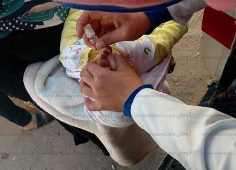 """تطعيم أكثر من نصف مليون طفل في اليوم الثاني لحملة """"شلل الأطفال"""" بالمنوفية"""