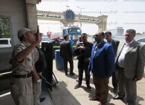 بالصور| مدير أمن الغربية يتفقد خدمات التأمين بطنطا وكمين دفرة