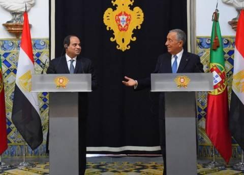 شريف إسماعيل يستقبل رئيس جمهورية البرتغال.. الليلة