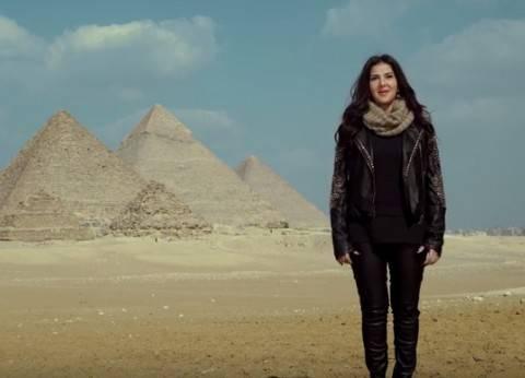 """دنيا سمير غانم لـ""""جيهان السادات"""": """"متابعتك لمسلسل نيللي وشريهان شرف لينا"""""""