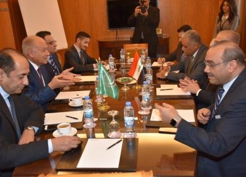 أبوالغيط يلتقي وزير الخارجية العراقي على هامش اجتماعات القمة العربية